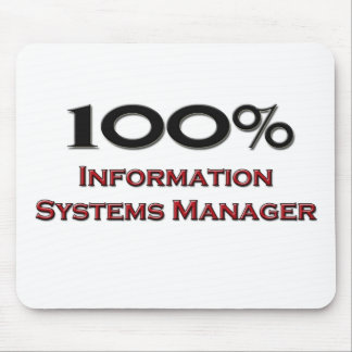 100 Percent Information Systems Manager Mouse Pads