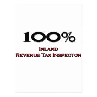 100 Percent Inland Revenue Tax Inspector Post Card