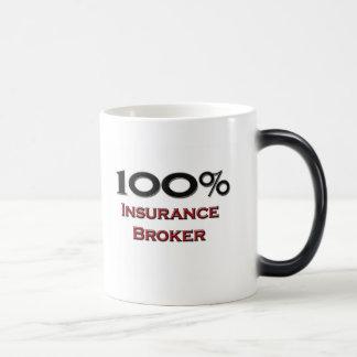 100 Percent Insurance Broker Magic Mug