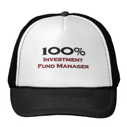100 Percent Investment Fund Manager Trucker Hat