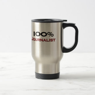 100 Percent Journalist 15 Oz Stainless Steel Travel Mug