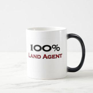 100 Percent Land Agent Magic Mug