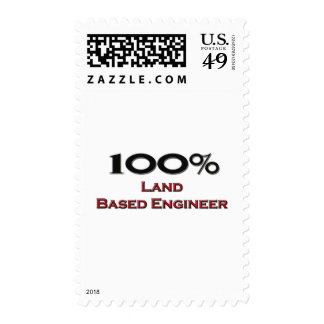 100 Percent Land Based Engineer Postage