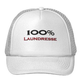 100 Percent Laundresse Mesh Hat