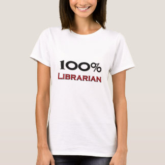 100 Percent Librarian T-Shirt