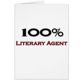 100 Percent Literary Agent Greeting Cards