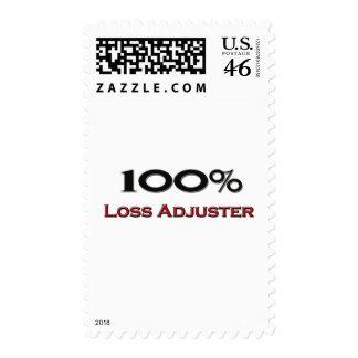 100 Percent Loss Adjuster Postage Stamp