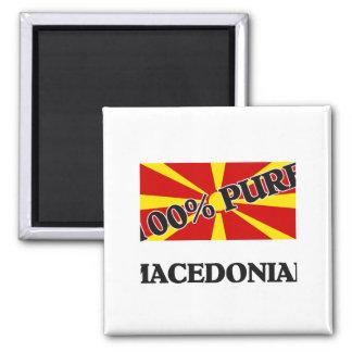 100 Percent MACEDONIAN Magnet