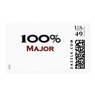 100 Percent Major Stamp