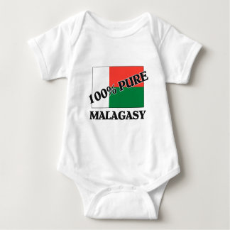 100 Percent MALAGASY Baby Bodysuit
