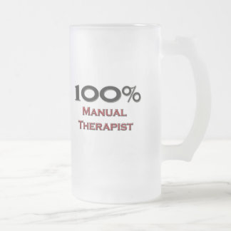 100 Percent Manual Therapist Coffee Mugs