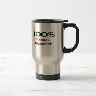 100 Percent Manual Therapist Coffee Mug