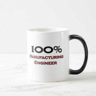 100 Percent Manufacturing Engineer Magic Mug