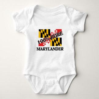 100 Percent Marylander Baby Bodysuit