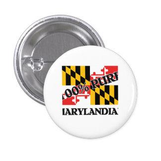 100 Percent Marylandian Button
