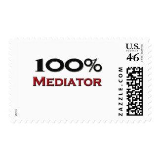 100 Percent Mediator Postage Stamp