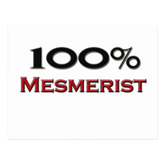 100 Percent Mesmerist Postcard