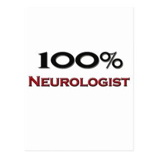 100 Percent Neurologist Post Cards