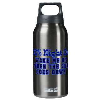 100 Percent Night Owl Insulated Water Bottle