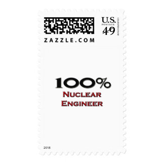 100 Percent Nuclear Engineer Postage