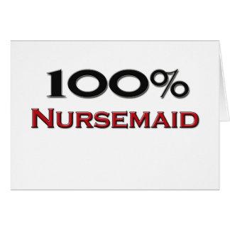 100 Percent Nursemaid Greeting Cards