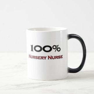 100 Percent Nursery Nurse Magic Mug