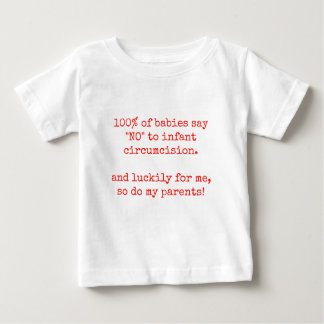 100 Percent of Babies - Red Baby T-Shirt