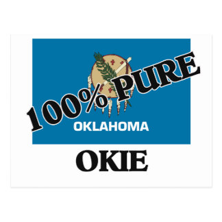 100 Percent Okie Post Cards