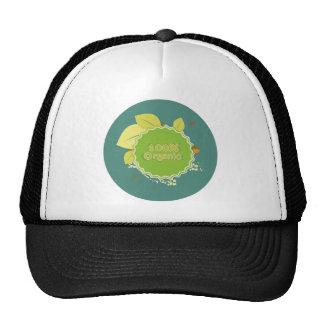 100 percent organic gorras de camionero