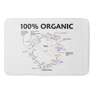 100 Percent Organic Krebs Cycle TCAC Bath Mat