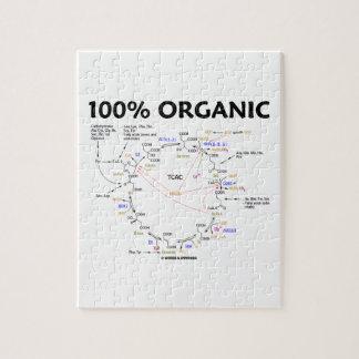100 Percent Organic Krebs Cycle TCAC Jigsaw Puzzles