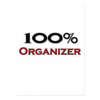 100 Percent Organizer Postcards