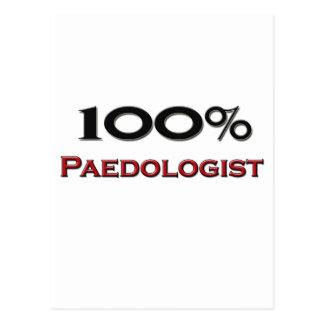 100 Percent Paedologist Postcard