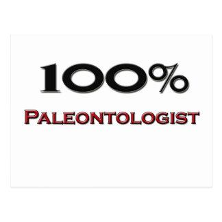 100 Percent Paleontologist Postcards
