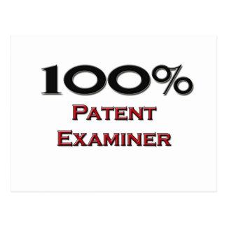100 Percent Patent Examiner Postcard