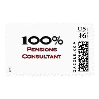 100 Percent Pensions Consultant Postage