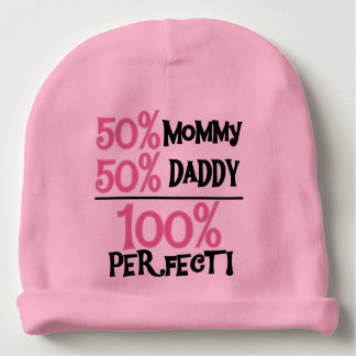 100 Percent Perfect Pink Baby Beanie