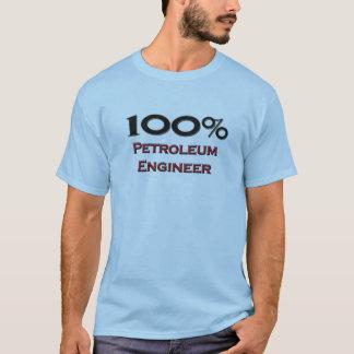 100 Percent Petroleum Engineer T-Shirt
