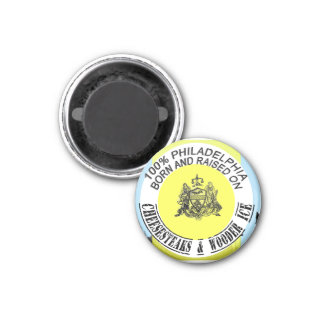 100 percent Philadelphia Born and Raised Magnet
