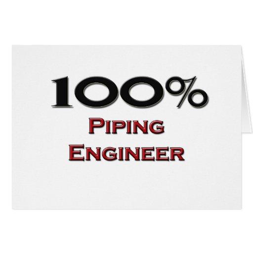 100 Percent Piping Engineer Card