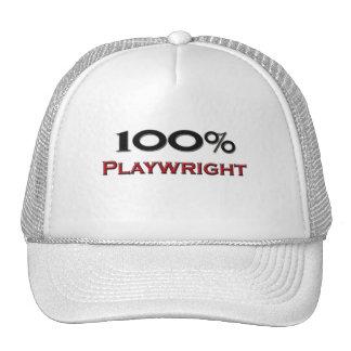 100 Percent Playwright Trucker Hats