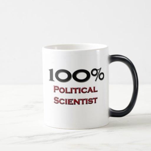 100 Percent Political Scientist 11 Oz Magic Heat Color-Changing Coffee Mug
