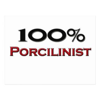 100 Percent Porcilinist Postcards