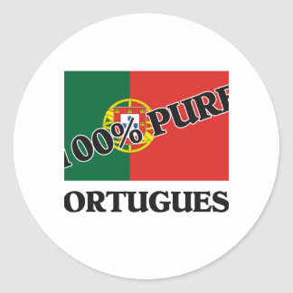 100 Percent PORTUGUESE Stickers