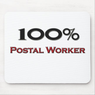 100 Percent Postal Worker Mouse Pads