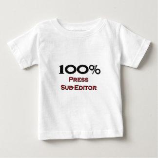 100 Percent Press Sub-Editor Tee Shirts