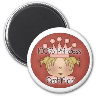 100 Percent Princess  Magnet