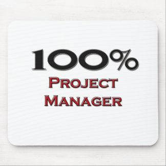 100 Percent Project Manager Mouse Pad