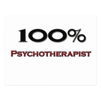 100 Percent Psychotherapist Postcard