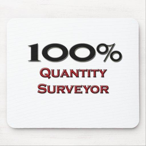 100 Percent Quantity Surveyor Mouse Mats